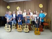 25.6.2018 kytarová třída p. uč. Pavla Nováka
