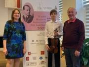 Adam Janíček 3. cena Mezinárodní houslová soutěž PhDr. Josefa Micky 23.10.2021