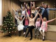 Klavírní večírek třídy Jarmily Holcové 13.12.2017