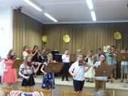 Koncert houslistů ze třídy p. uč. Jitky Novákové 25.6.2019