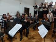 Orchestr bývalých žáků ZUŠ 14.12.2017 Vánoční koncert Brandýs n. Orlicí
