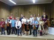 Vánoce na čtyřech strunách - žáci JItky Novákové a Andrey Markové 21.12.2017