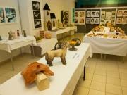 Výstava výtvarného a keramického zaměření duben 2015